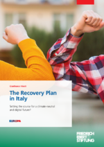 The recovery plan in Italy